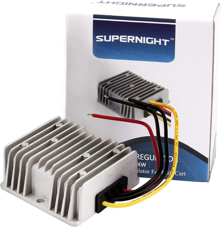 10-30V Step UP to 48V//2A 96W Power Supply Module SMAKN/® Waterproof DC//DC Converter 12V