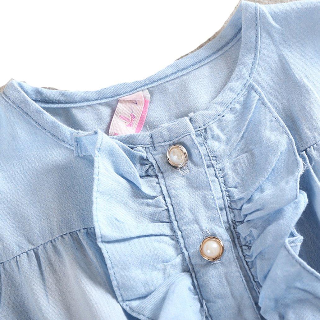 Baby Girls Flower Dress Summer Floral Clothing Newborn Toddler Sleeveless Cotton Casual Vest Dresses