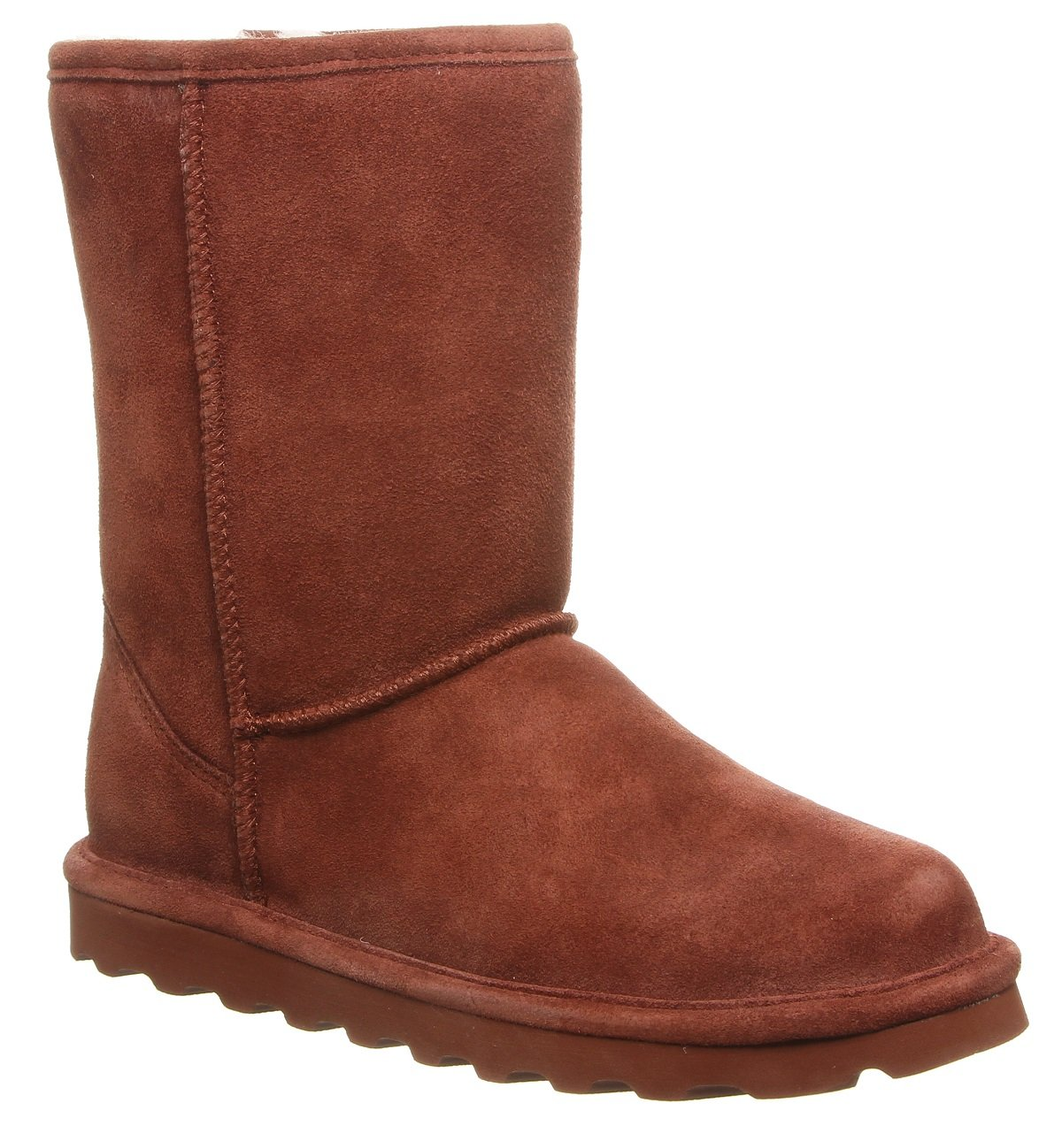 BEARPAW Women's Elle Short Fashion Boot B079CCNG35 10 B(M) US|Russet