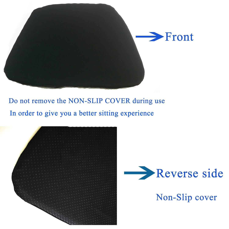 Amazon.com: SESEAT Cojín de asiento suave transpirable de ...