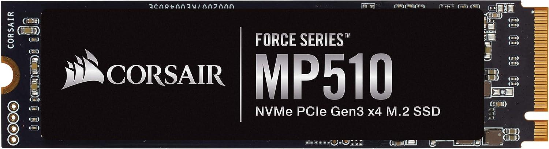 Corsair MP510 Velocidad de Lectura hasta 3.480 MB/s, 960 GB, Negro ...