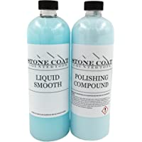 Polishing & Cleaning Kit for Epoxy Resin (Stone Coat Countertops) – Remove Scratches from Epoxy Projects After Sanding…
