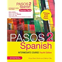 Pasos 2 (Fourth Edition) Spanish Intermediate Course: Course Pack (Books, CD & DVD)