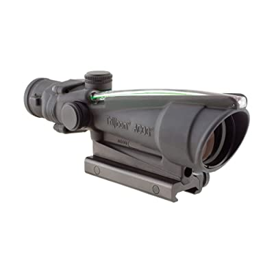 Trijicon ACOG 3.5 X 35 Scope Dual Illuminated Horseshoe/Dot .308 M240 Ballistic Reticle, Green