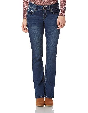 27c83320651ad4 WallFlower Women's Juniors Luscious Curvy Stretch Denim Bootcut Jeans  (30