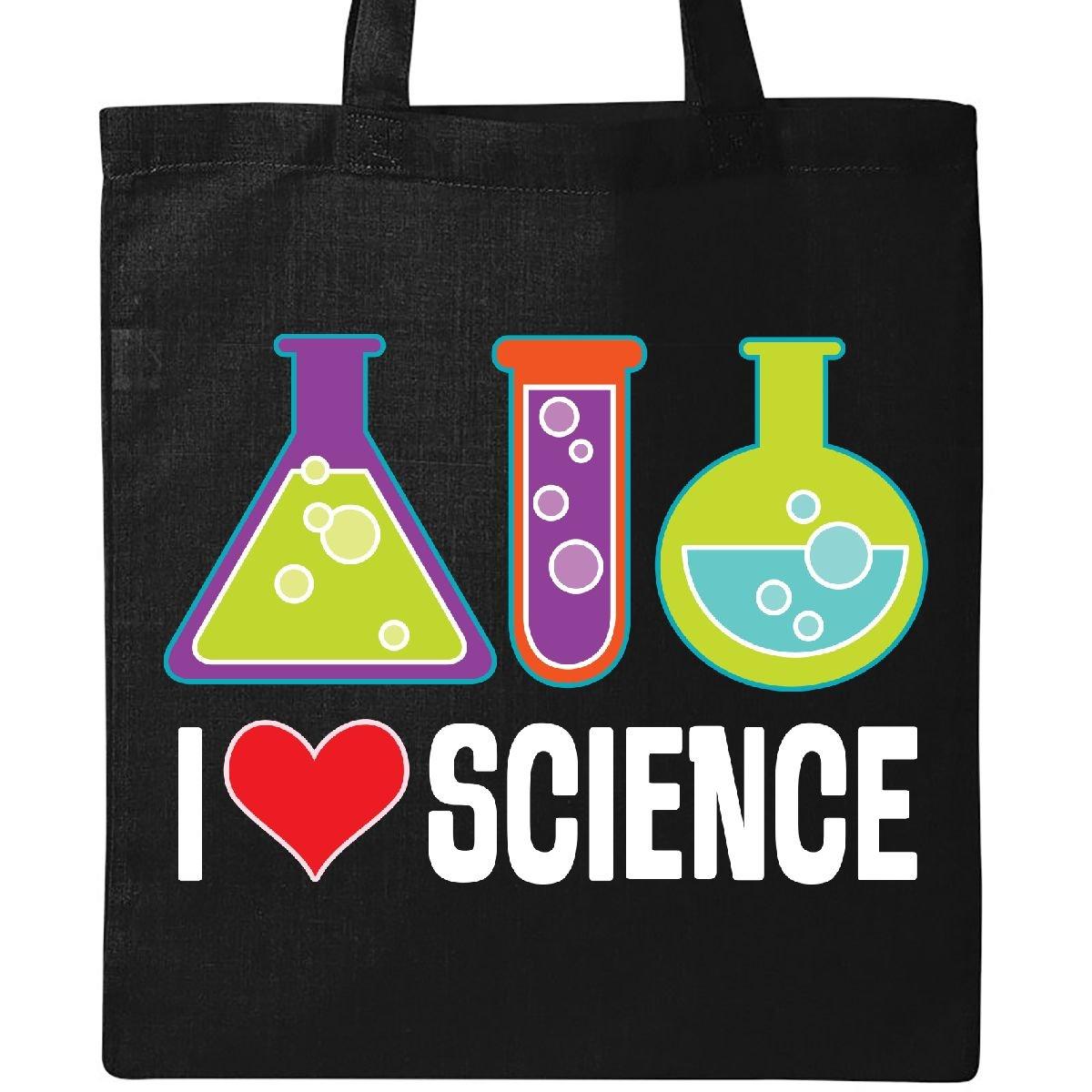 Inktastic - I Love Science Chemistry Teacher Tote Bag Black 2e005