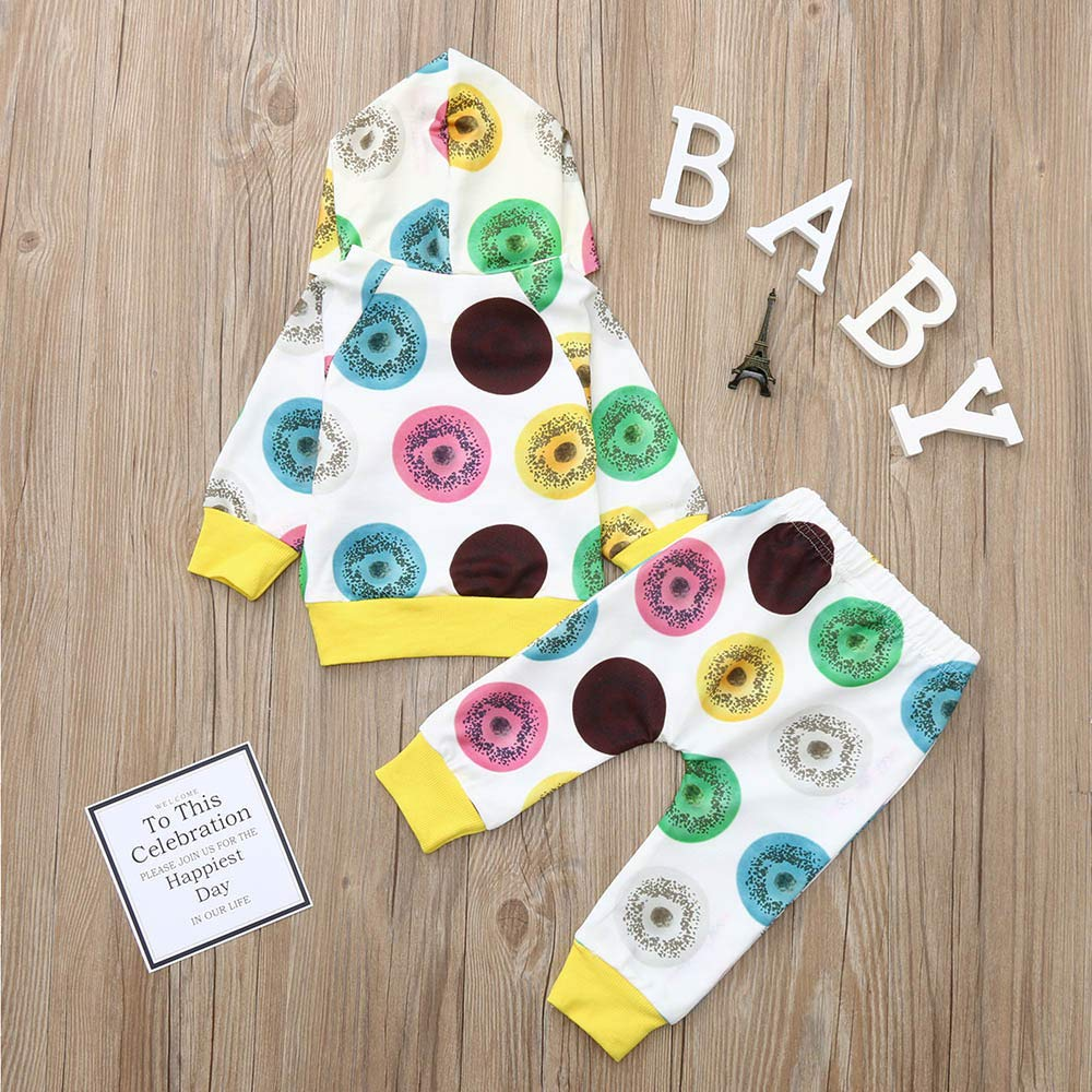 Sameno Baby Christmas Layette Set,Newborn Infant Baby Boy Winter Print Hoodie Sweatshirt Tops Pants Clothes Outfits Set