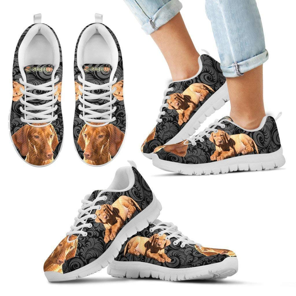 Vizsla Print-Kids Running Shoes-Casual Comfortable Sneakers Running Shoes