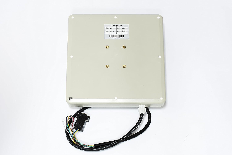 Yanzeo SR681 UHF - Lector RFID de 6 m de largo alcance para exteriores IP67 8 dbi RS232/RS485/Wiegand salida UHF lector integrado