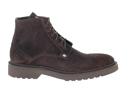 Cesare Paciotti Hombre PAC56308 Marrón Gamuza Botines: Amazon.es: Zapatos y complementos