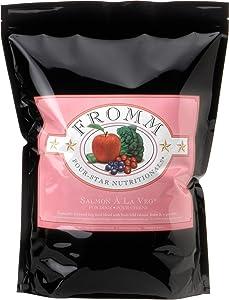 Fromm Four-Star Salmon A La Veg Dog Food, 15 Lb