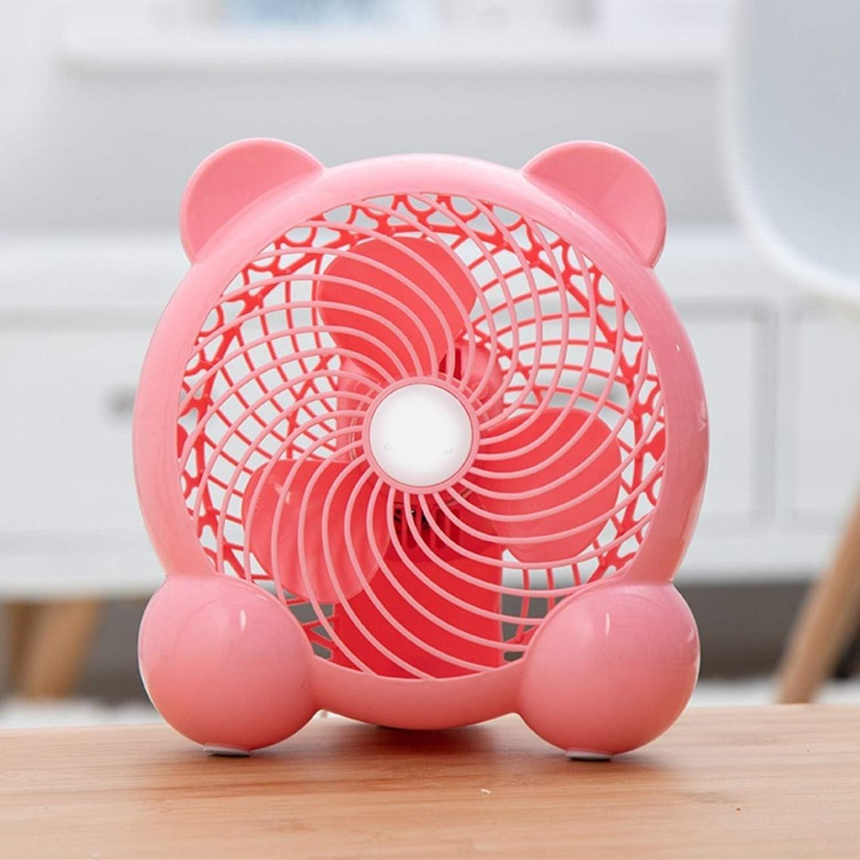 Color : 01 Mini Portable Cooling Fan USB Fan Mini Mute 7 Inch Office Desktop Computer Student Dormitory Bedside Fan