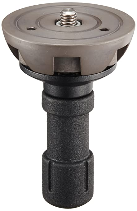 10 opinioni per Manfrotto 520BALLSH Semisfera con Impugnatura Corta, 75 mm, Nero