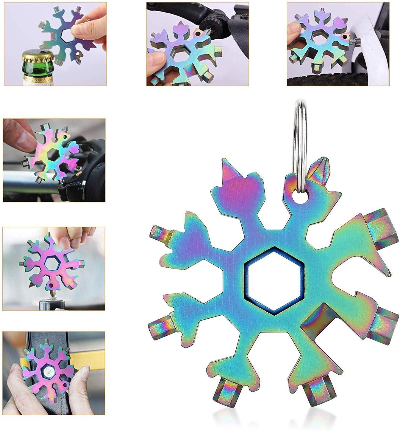 YAASO Biegsame Welle Flexible Wellenverl/ängerung Winkelbohrer Adapter Snowflake Multi Tool Schraubendreher Bits Zubeh/ör Universal Set Farbe Schwarz