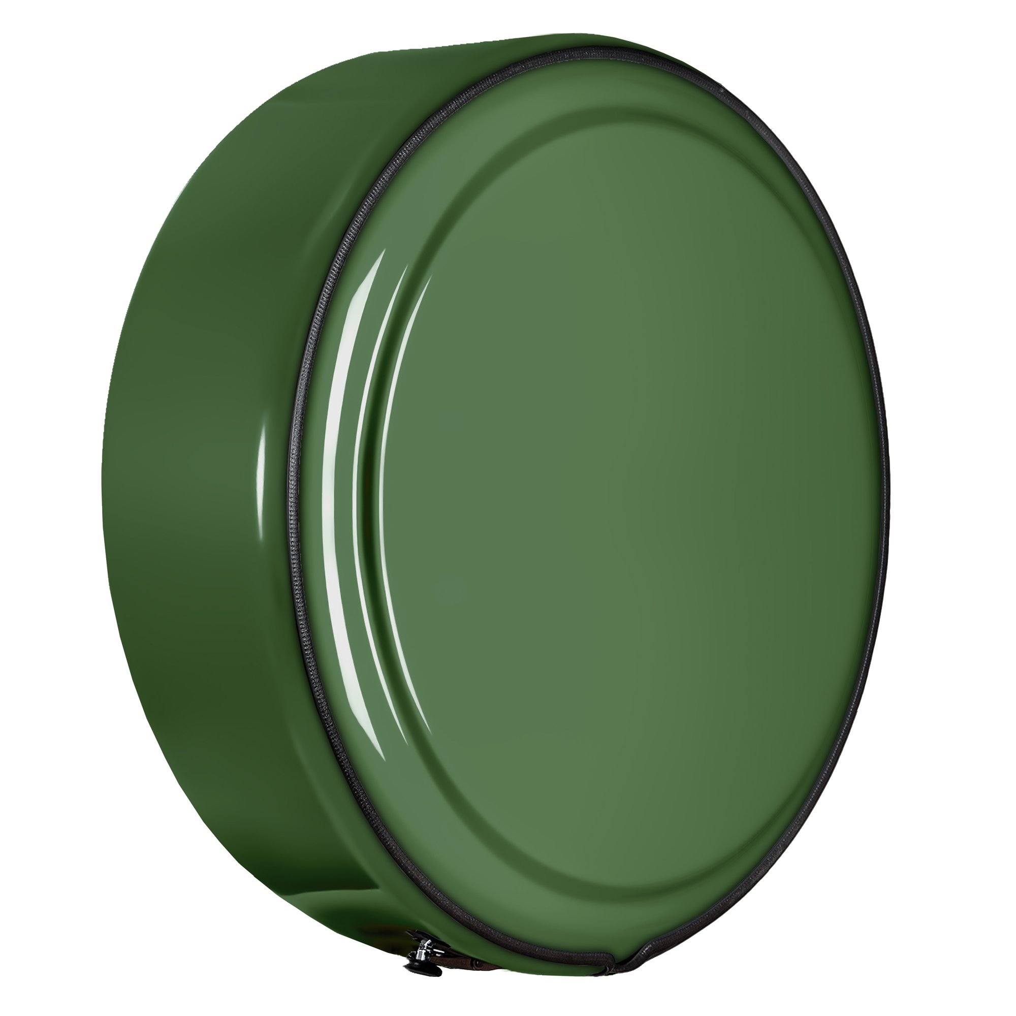 Jeep Wrangler JK - 29'' Color Matched MasterSeries Hard Tire Cover - Sarge Green by Boomerang (Image #3)