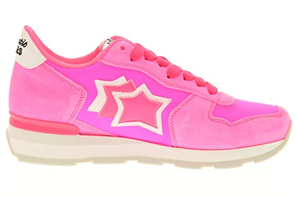 ATLANTIC STARS women low sneakers VEGA UVP 86FF size 38 Fucsia fluo:  Amazon.co.uk: Shoes & Bags