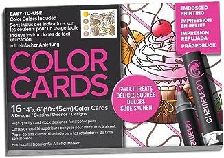 """Chameleon 16 Piece 4"""" x 6"""" Treats Color Cards"""