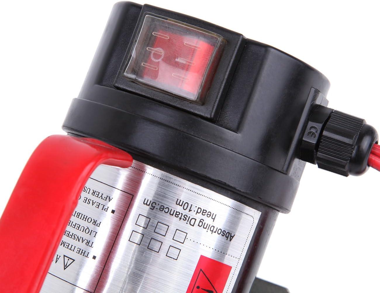MuGuang Oil Pump Extractor 12V Oil Transfer Pump Fuel Fluid Extractor Electric Transfer Biodiesel Kerosene Pump 45L//Min Speed 3600RPM Auto Car Motor Trucks
