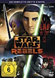 Star Wars Rebels - Die komplette dritte Staffel [Alemania] [DVD]