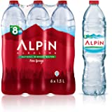 مياه ألبين المعدنية قليلة الصوديوم ومقلص القلوية - 1.5 لتر (مجموعة من 6 عبوات)