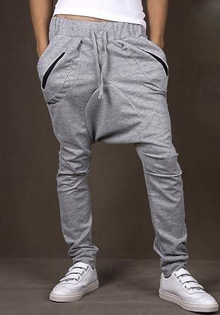 Pantalón afgano para hombre al estilo chándal y holgados mod ...