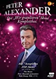 Peter Alexander: Die Wir gratulieren Show - Komplettbox [4 DVDs]