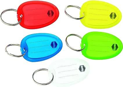 Marbig Key Tag Yellow Pk10 Retail
