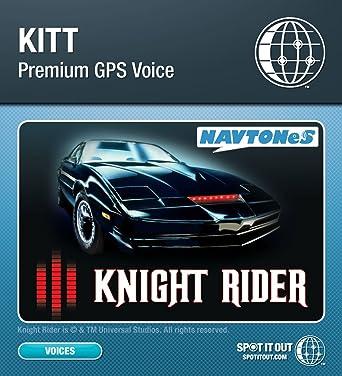 Kitt GPS Voice for Garmin (PC only) [Download]
