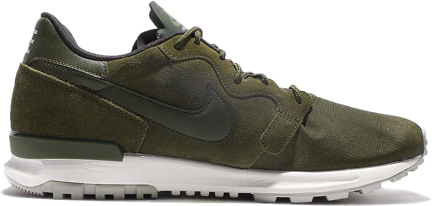 Nike 844978 300 - Zapatillas de Material Sintético para Hombre Verde Verde Militar * Verde Size: 40.5: Amazon.es: Zapatos y complementos