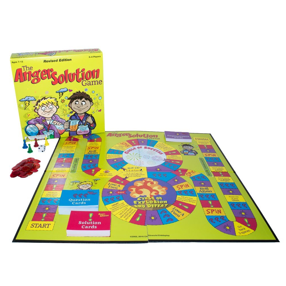 The Anger Solution Board Game