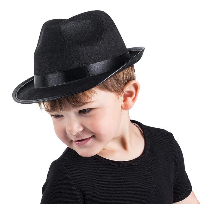 Amazon.com: Divertidos sombreros de fiesta Fedora para niños ...