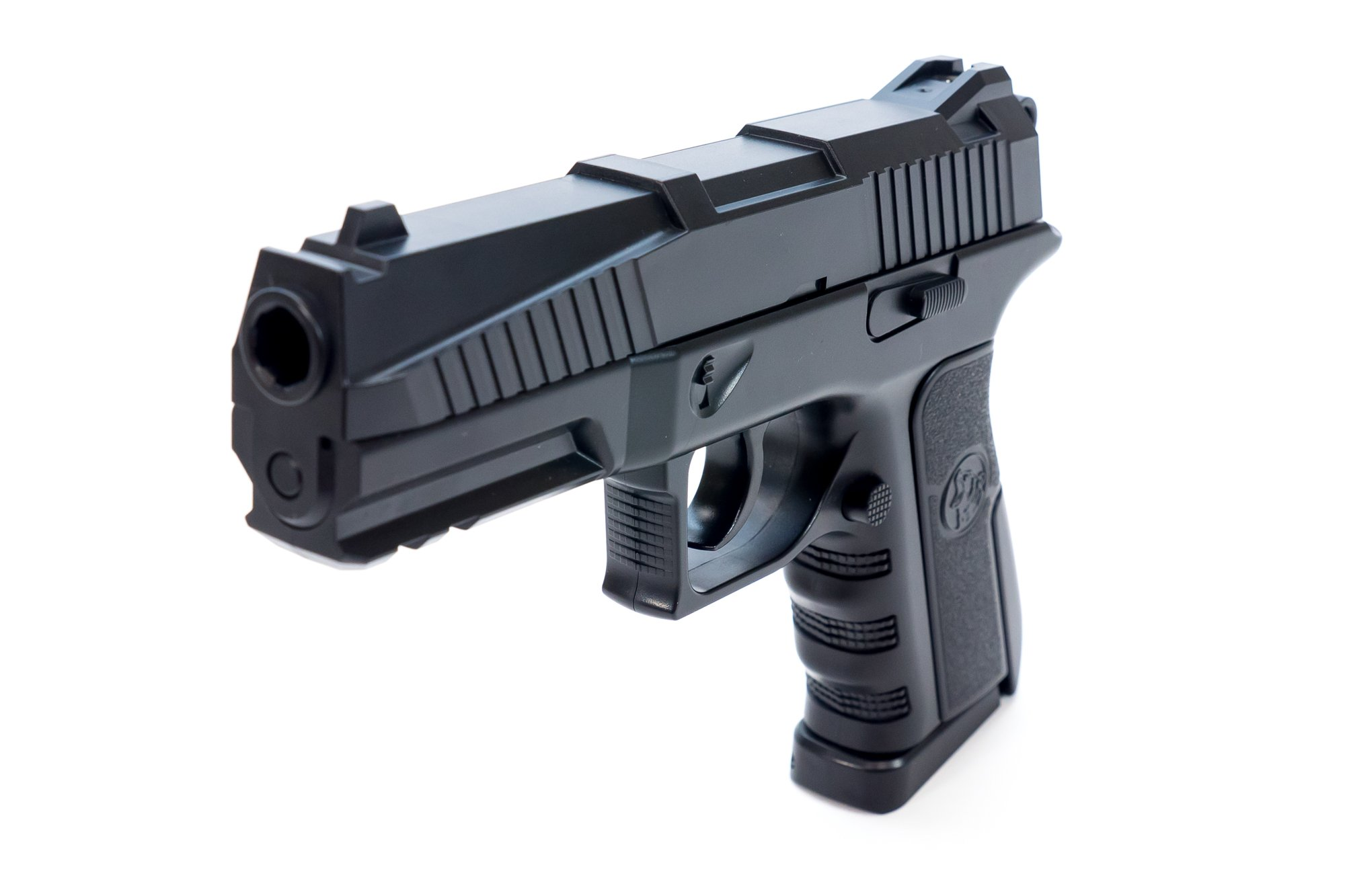 Bear River BR45 Semi-Auto CO2 BB Pistol Airgun Shoots .177 Cal 4.5mm Ammo