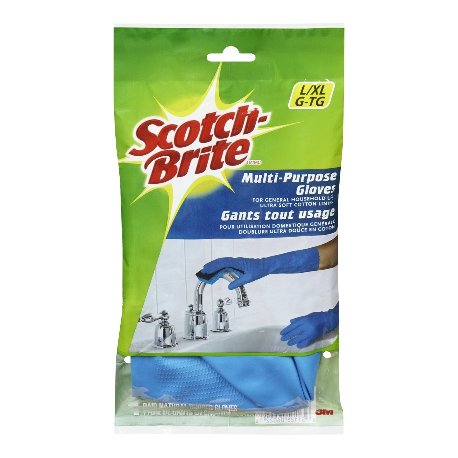 Scotch-Brite Multi Purpose Gloves, Large/X-Large
