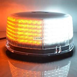 1x240 LED Car Roof Top Emergency Urgency Warning Strobe Flash Light Yellow//Amber