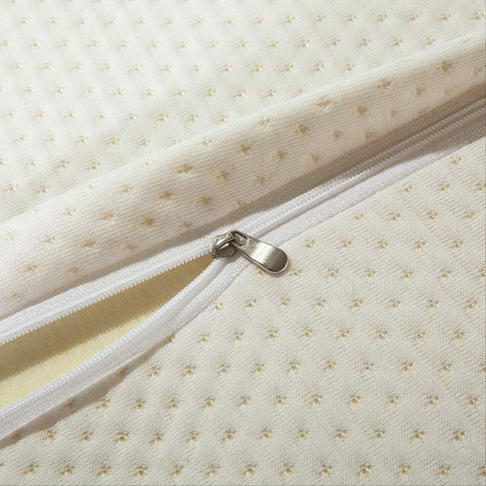 Milben ZGL 50 x 30 x 10 cm Schutzkissen f/ür Halswirbels/äule Memory-Baumwolle antiallergen langsames R/ückprallen hilft beim Schlafen und Schmerzlinderung