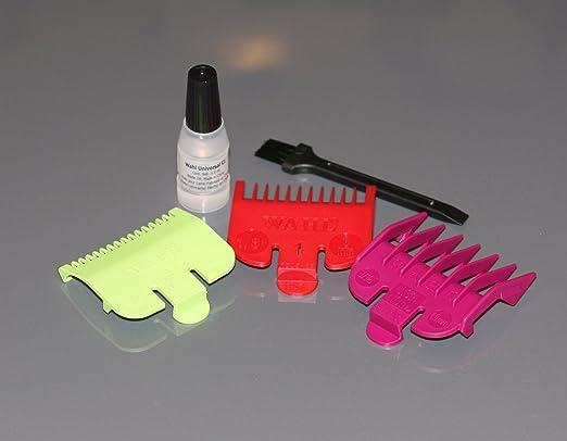 3 opinioni per Wahl 3 Short Attachment Comb Set- for Wahl Super Taper, Chromepro, Balding,