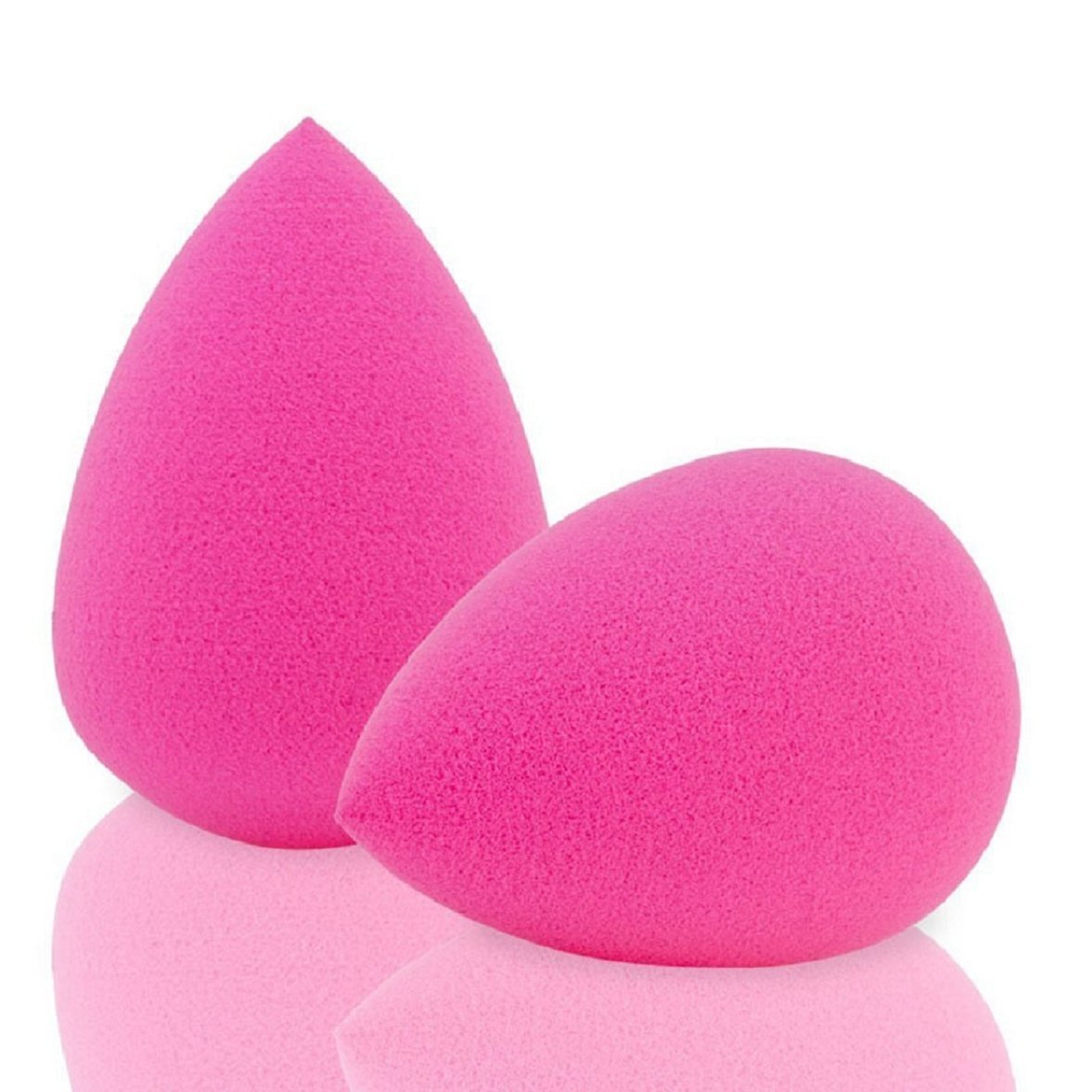 Nicedeal 2Pcs Beauty Sponge Latex Free Blender Makeup Flawless Liquid Foundation Make-up Tools and Brushes for Beauty