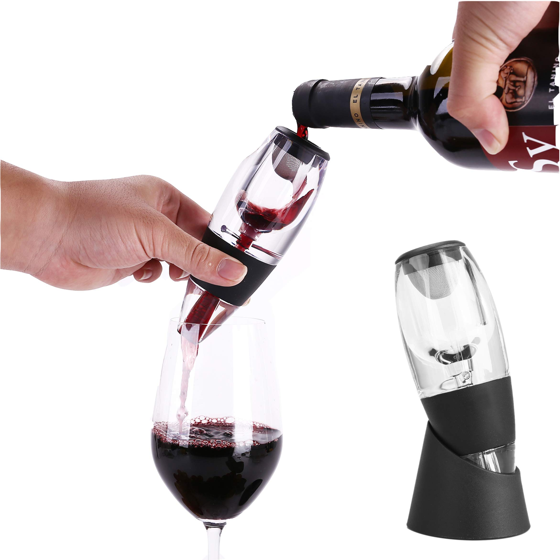 Wine Aerator Decanter Portable Fast Decanter Device - Latest Aerator Technology, Stylish and Practical