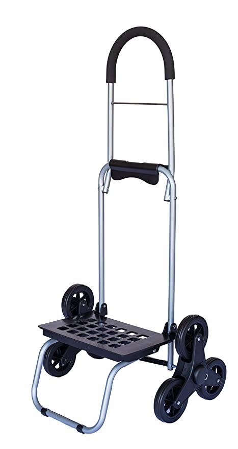 Stair Climber Mighty Max Dolly Cart, Black Handtruck Hardware Garden  Utility Cart