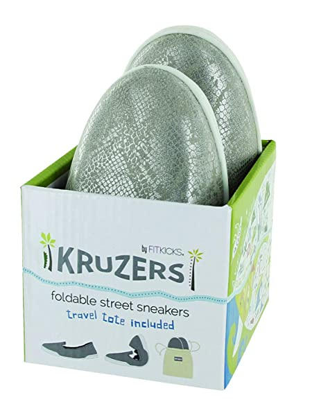 Amazon.com: FitKicks Kruzers Slip-On Zapatillas, Naranja ...