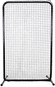 "Jugs Standard Lite-Flite/Slowpitch Screen — The Perfect Screen to use with The Lite-Flite or Small-Ball Machines, 6.5'H x 4'W, 45 Ply Poly-E Netting and 1.5"" Diameter Frame, 1-Year Guarantee"