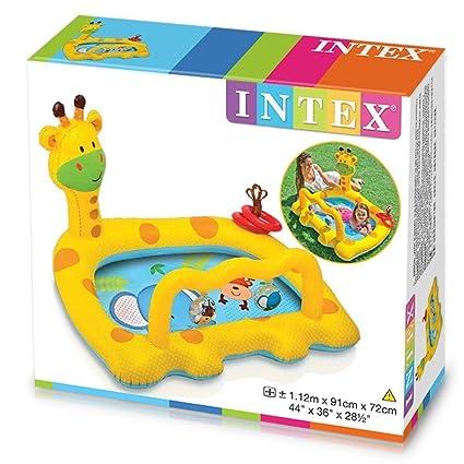 Amazon.com: Intex Smiley jirafa bebé piscina por Intex: Toys ...