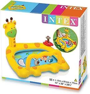 انتكس 57105 لعبة و مسبح اطفال مائية قابلة للنفخ