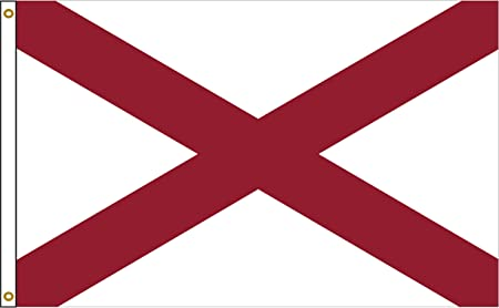NEW 3x5/' ALABAMA STATE FLAG 3 x 5 FOOT   FLAG