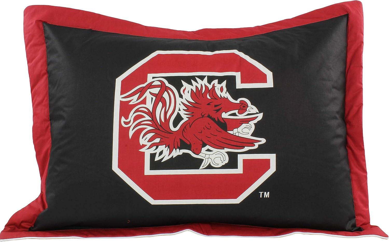 Amazon Com College Covers South Carolina Gamecocks Printed Pillow Sham Home Kitchen