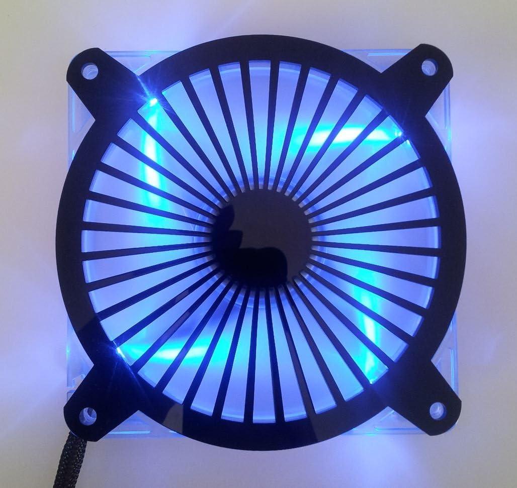Custom Acrylic Turbine Computer Fan Grill 140mm