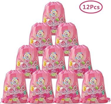 Amazon.com: Cieovo - 12 bolsas de regalo de fiesta de ...