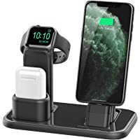 Beacoo Upgraded 3 in 1 Charging Stand for iWatch Series 5/4/3/2/1, Airpods iPhone 11/11pro/max/Xs/X Max/XR/X/8/8Plus/7 /6S iPad