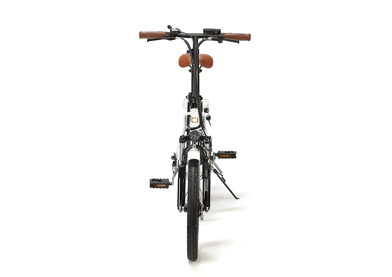 BIWBIK Bicicleta ELECTRICA Plegable Mod. Book Sport BATERIA Ion Litio 36V 12AH (Book Sport Blanca BATERIA 12AH): Amazon.es: Deportes y aire libre