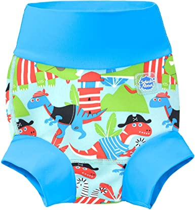 Vintage Moby Splash About Baby Kids New Improved Happy Nappy,Blue ,0-3 months